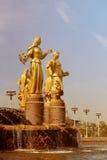Foto czerepu fontanna Zdjęcia Stock
