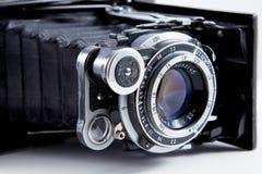 Foto d'annata del primo piano dell'obiettivo Fotografia Stock
