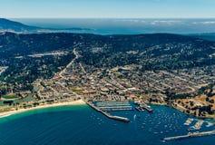 Foto da antena de Monterey Califórnia fotos de stock
