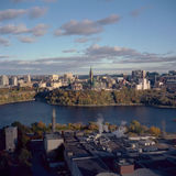 Foto da antena de Ottawa Imagens de Stock