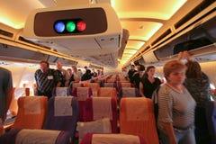 Foto da cabine de HS-TAP Airbus A300-600 de Thaiairway Imagens de Stock Royalty Free