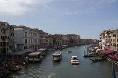Foto da cidade em uma água - Veneza fotografia de stock