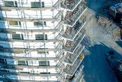 Foto da construção sob a construção imagem de stock