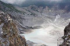 Foto da cratera Fotografia de Stock
