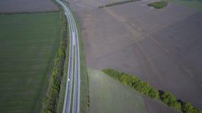Foto da estrada do zangão imagens de stock