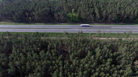 Foto da estrada do zangão fotos de stock