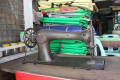 Foto da máquina de costura velha Foto de Stock