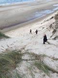 Foto da paisagem da praia imagem de stock