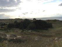 Foto da paisagem da praia fotografia de stock