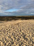 Foto da paisagem da praia Foto de Stock