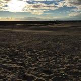 Foto da paisagem da praia imagens de stock
