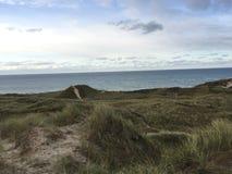 Foto da paisagem da praia fotos de stock