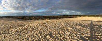 Foto da paisagem da praia imagem de stock royalty free