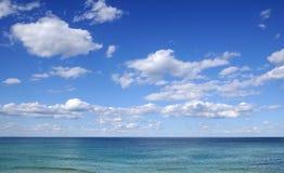 Foto da paisagem do mar Fotos de Stock Royalty Free