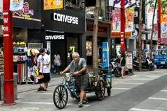 Foto da rua de Taipei Imagens de Stock