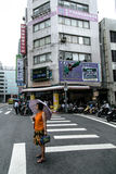 Foto da rua de Taipei Imagem de Stock
