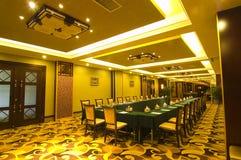 Foto da sala de conferências do hotel Imagem de Stock