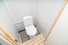 Foto da sala do toalete fotografia de stock