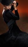 Foto da senhora da dança Fotografia de Stock Royalty Free