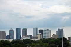 Foto da skyline da cidade Imagem de Stock