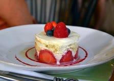 A foto da sobremesa Fotografia de Stock