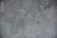 Foto da textura suja da parede do estuque cinzento para o fundo foto de stock royalty free