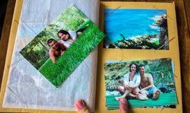 Foto dal vication delle coppie fotografia stock libera da diritti