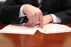 Foto, das einen auf lagerumsatz zeigt Lizenzfreie Stockfotos