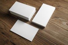 Foto de cartões vazios Imagens de Stock Royalty Free