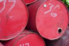 Cilindros de óleo Imagem de Stock
