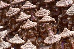 Foto de Clay Made Religious Sculptures Stock Fotografia de Stock Royalty Free