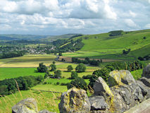 Penas de Derbyshire Foto de Stock