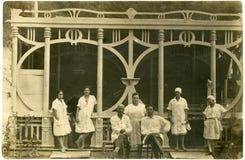 Foto de familia vieja. Fotografía de archivo