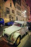 Foto de High Dynamic Range del coche viejo Imagenes de archivo