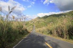 Foto de la acción de camino Imagen de archivo libre de regalías
