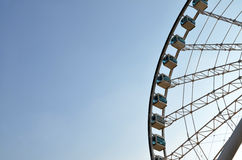 Foto de la acción de Ferris Wheel Fotos de archivo