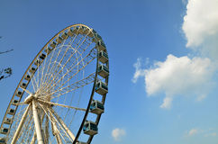 Foto de la acción de Ferris Wheel Imagen de archivo libre de regalías