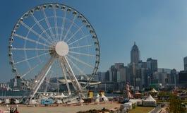 Foto de la acción de Ferris Wheel Foto de archivo
