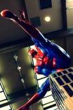 Foto de la aventura asombrosa del hombre araña Imagen de archivo