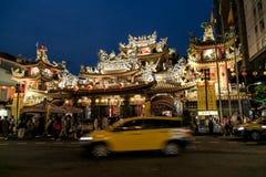 Foto de la calle de Taipei Imagen de archivo libre de regalías