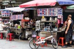 Foto de la calle de Taipei Fotografía de archivo