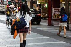 Foto de la calle de Taipei fotografía de archivo libre de regalías