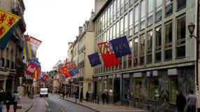 Foto de la calle en Francia Imagen de archivo