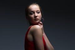 Foto de la chica joven Foto de archivo