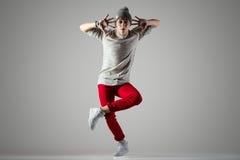 Foto de la danza del estudio Fotos de archivo libres de regalías