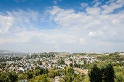 Foto de la descripción de la ciudad Fotografía de archivo libre de regalías