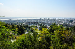 Foto de la descripción de la ciudad Imagenes de archivo