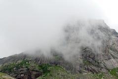 Foto de la escena de la montaña Foto de archivo libre de regalías