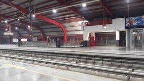 Foto de la estación de metro imagen de archivo