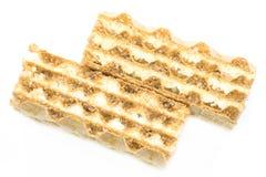 Foto de la galleta del primer (diagonal) Fotografía de archivo libre de regalías